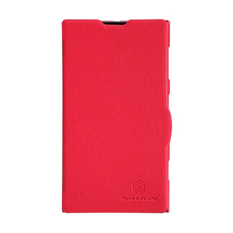 NILLKIN Fresh Series Leather Case Red Casing for Nokia Lumia 1020