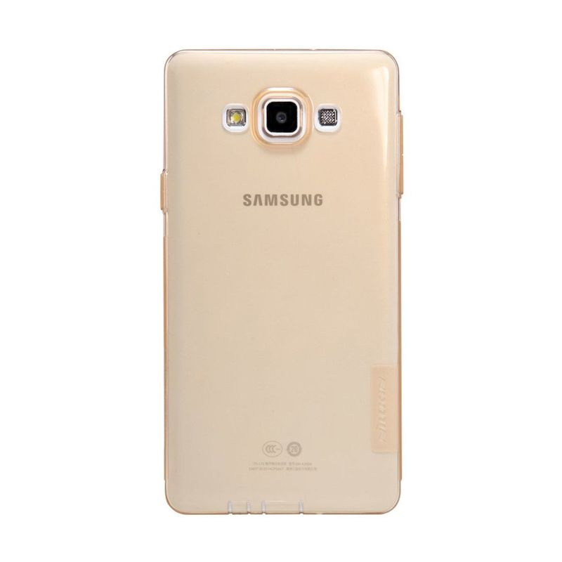 Nillkin Nature TPU Brown Casing for Samsung Galaxy A7 A700