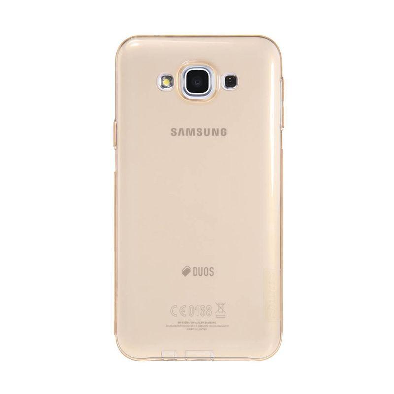 Nillkin Nature TPU Brown Casing for Samsung Galaxy E7 E700