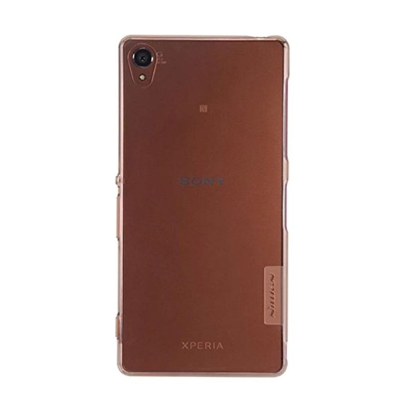 Nillkin Nature TPU Brown Casing for Sony Xperia M4 Aqua