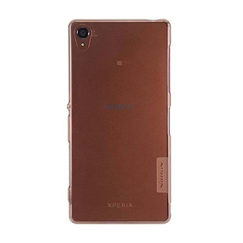 Nillkin Nature TPU Brown Casing for Sony Xperia Z3 L55