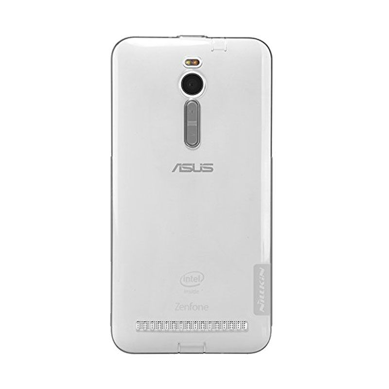Nillkin Nature TPU Gray Casing for Asus Zenfone 2 ZE551ML [5.5 Inch]
