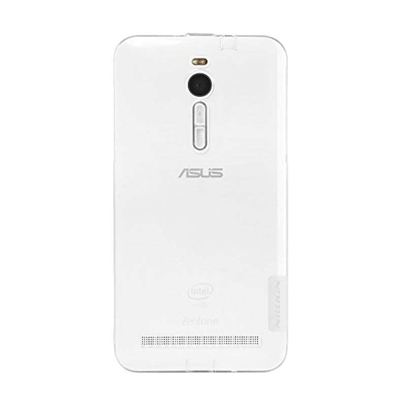 Nillkin Nature TPU White Casing for Asus Zenfone 2 ZE551ML [5.5 Inch]