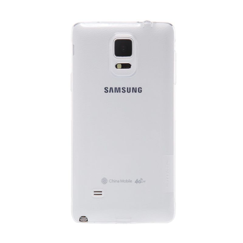 Nillkin Nature TPU White Casing for Samsung Galaxy Note 4 N9100