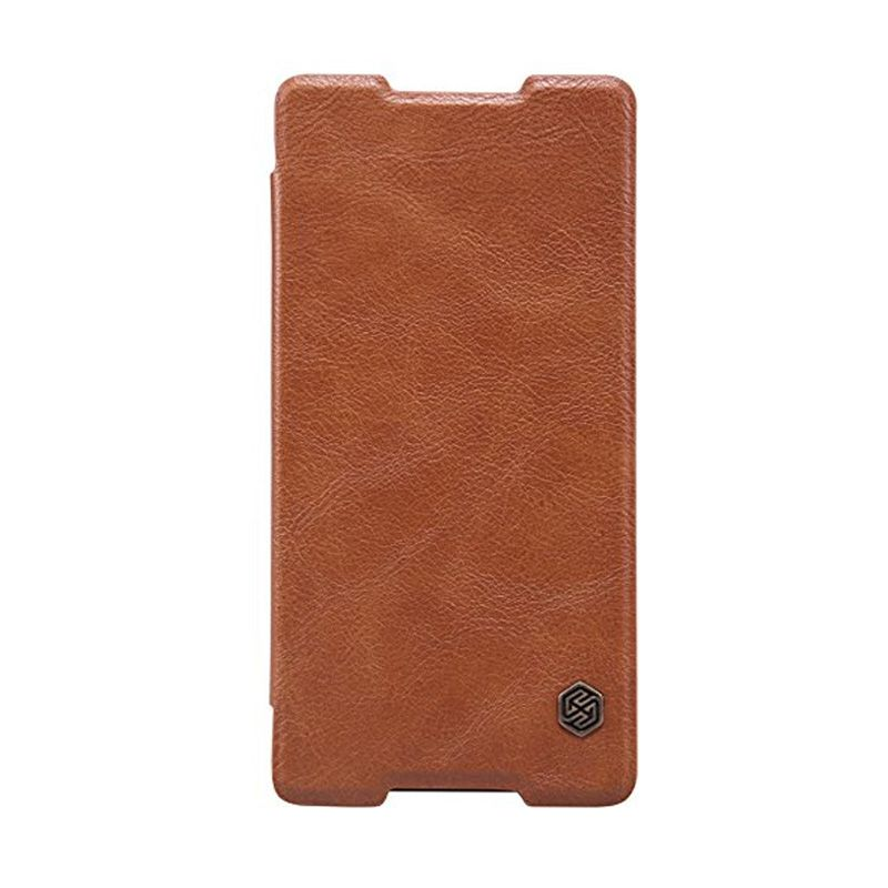 NILLKIN QIN Leather Case Brown Casing for Sony Xperia Z4