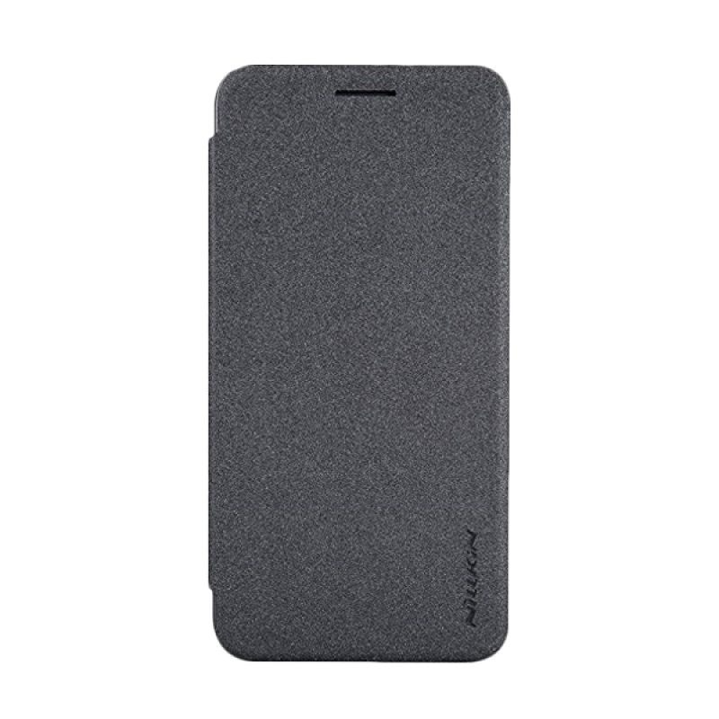 Nillkin Sparkle Leather Black Casing for Asus Zenfone C ZC451CG