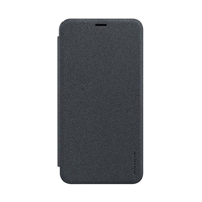 Nillkin Sparkle Leather Case Black Casing for Meizu M2 Note