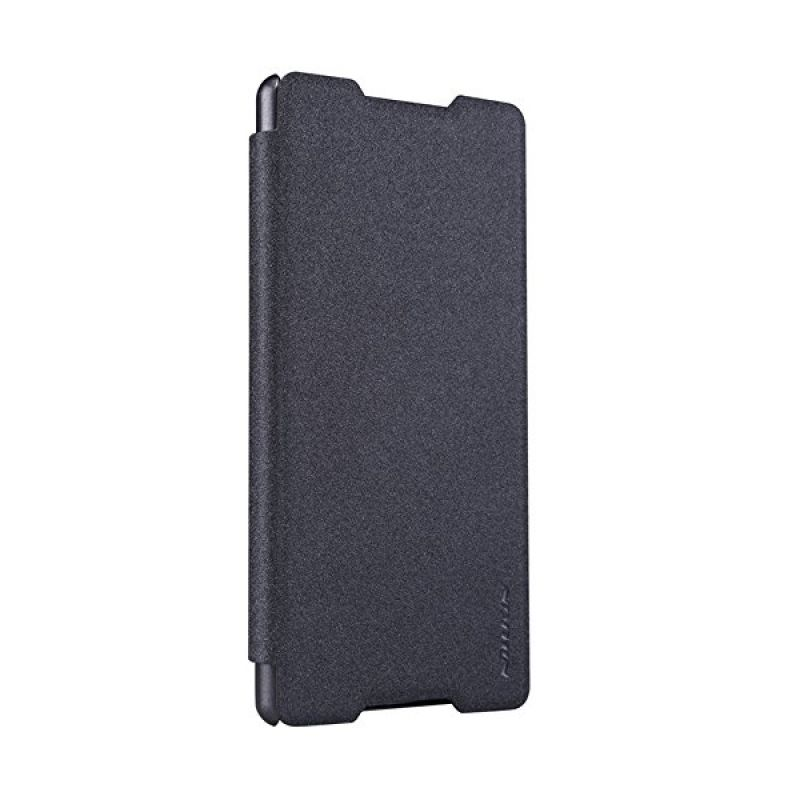 Nillkin Sparkle Leather Black Casing for Sony Xperia Z4 or Xperia Z3