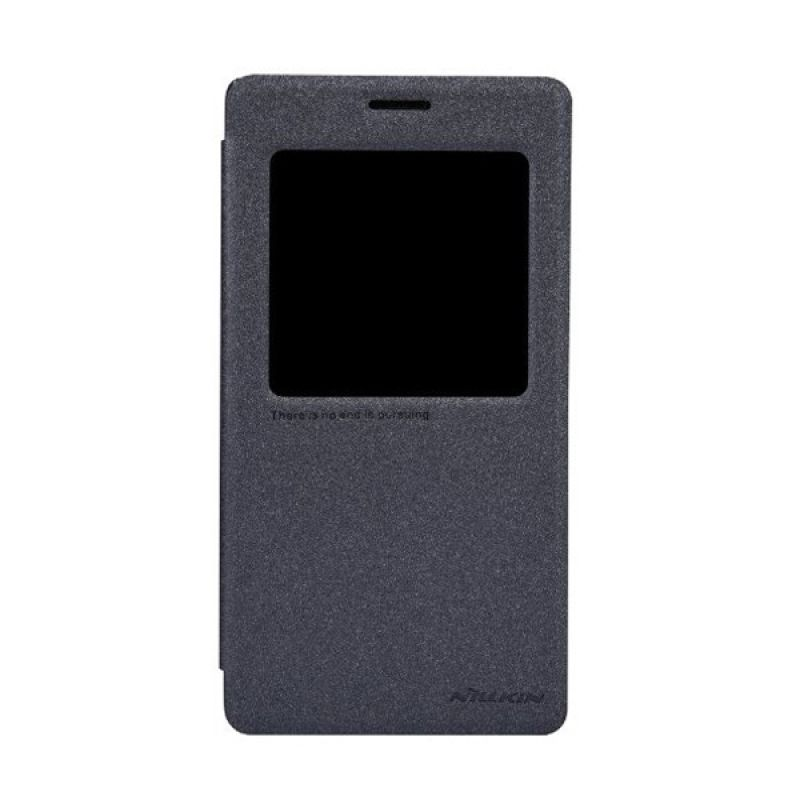 Nillkin Sparkle Leather Black Casing for Xiaomi Redmi Note