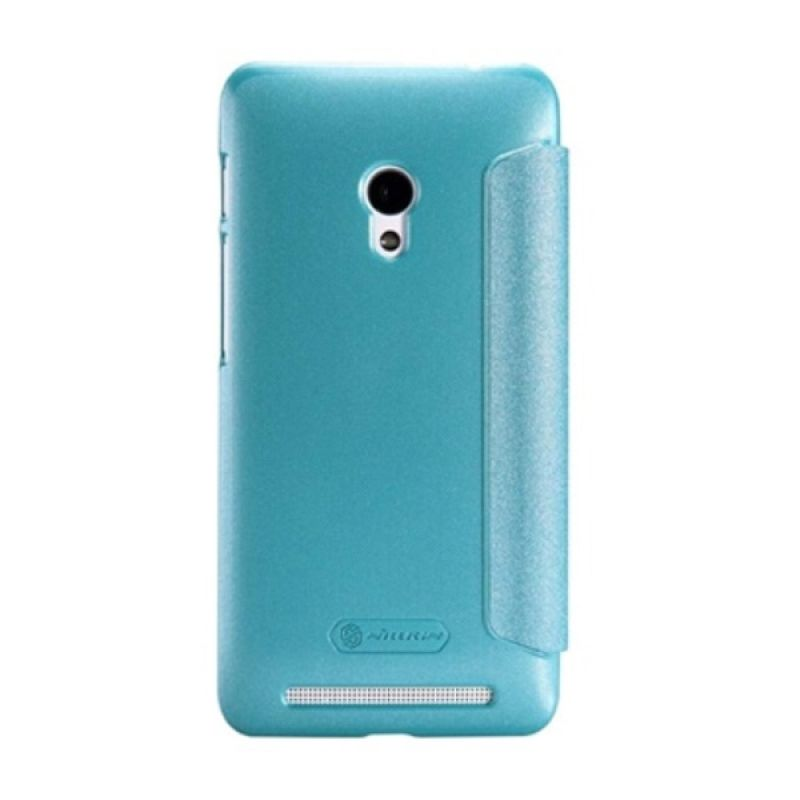 Nillkin Sparkle Leather Blue Casing for Asus Zenfone 4S A450CG