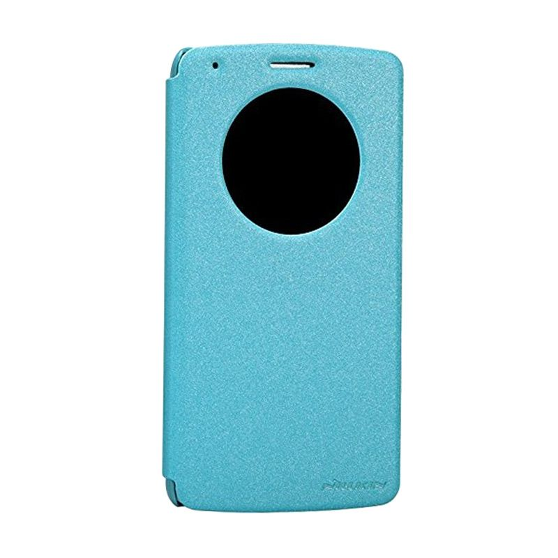 Nillkin Sparkle Leather Blue Casing for LG Optimus G3 D850 or D855