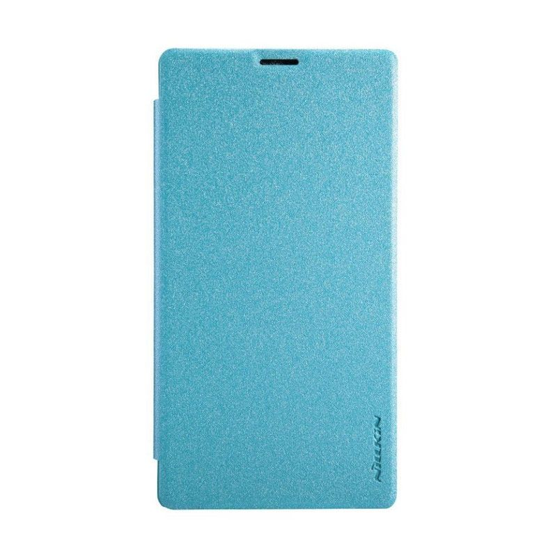 Nillkin Sparkle Leather Blue Casing for Sony Xperia T3 M50