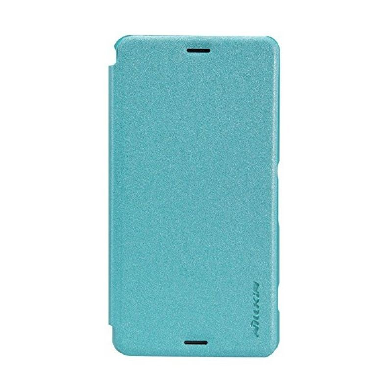 Nillkin Sparkle Leather Blue Casing for Sony Xperia Z3 Compact D5803/D5833
