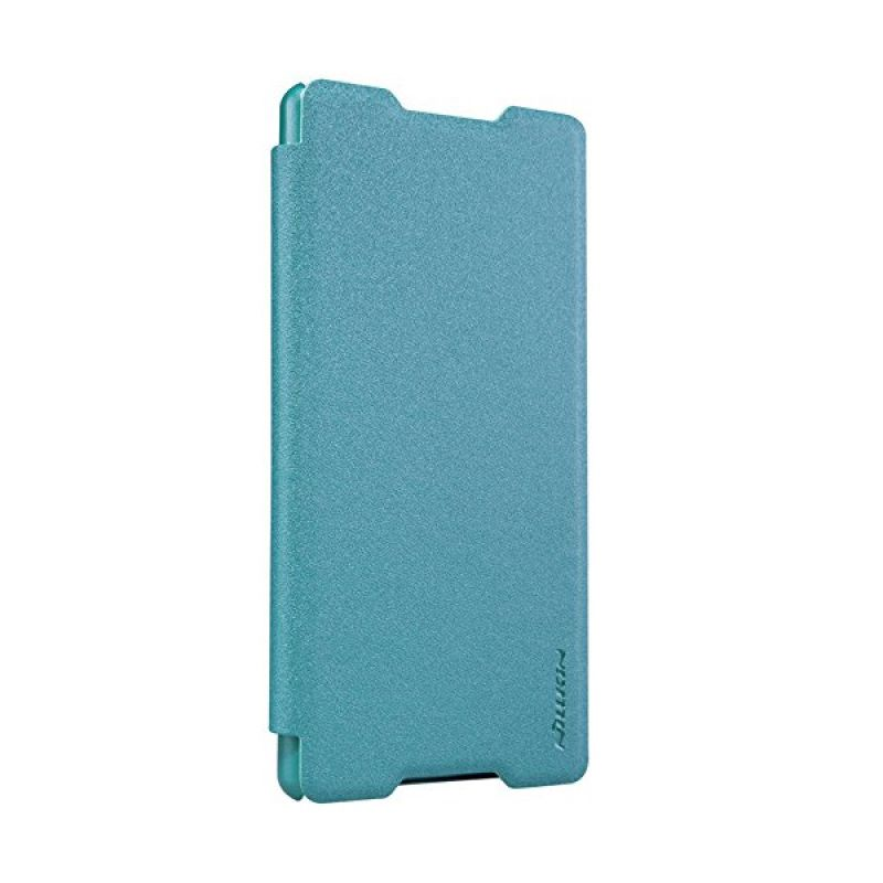 Nillkin Sparkle Leather Blue Casing for Sony Xperia Z4