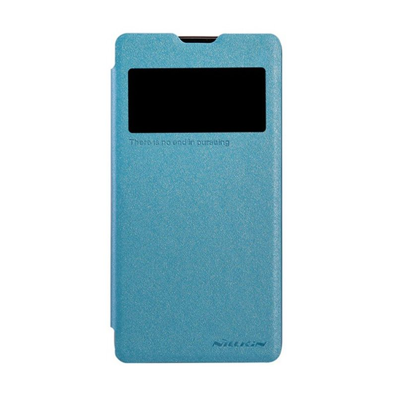 Nillkin Sparkle Leather Blue Casing for ZTE Nubia Z5S Mini