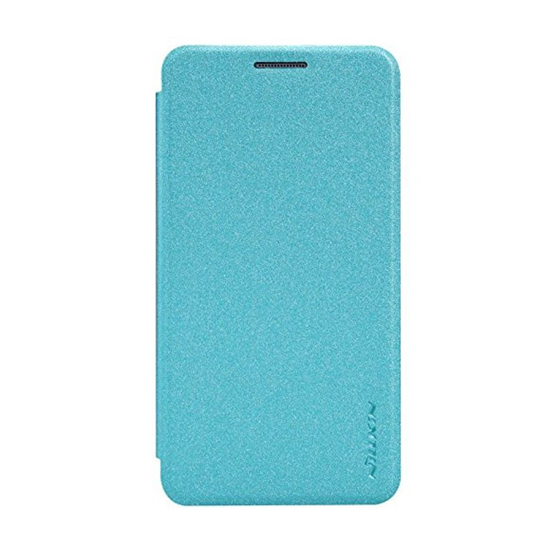 Nillkin Sparkle Leather Blue Casing for Samsung Galaxy A3 A300