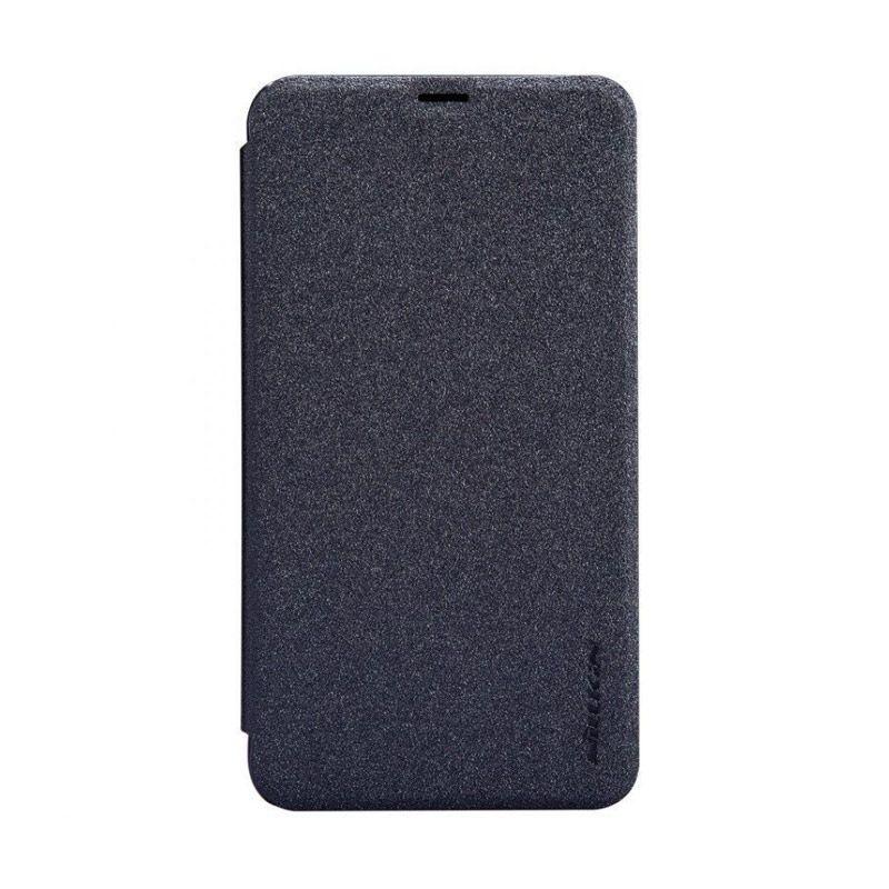 NILLKIN Sparkle Black Leather Casing for Nokia Lumia 930