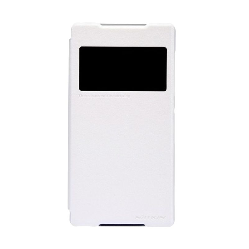 Nillkin Sparkle Leather White Casing for Sony Xperia Z2