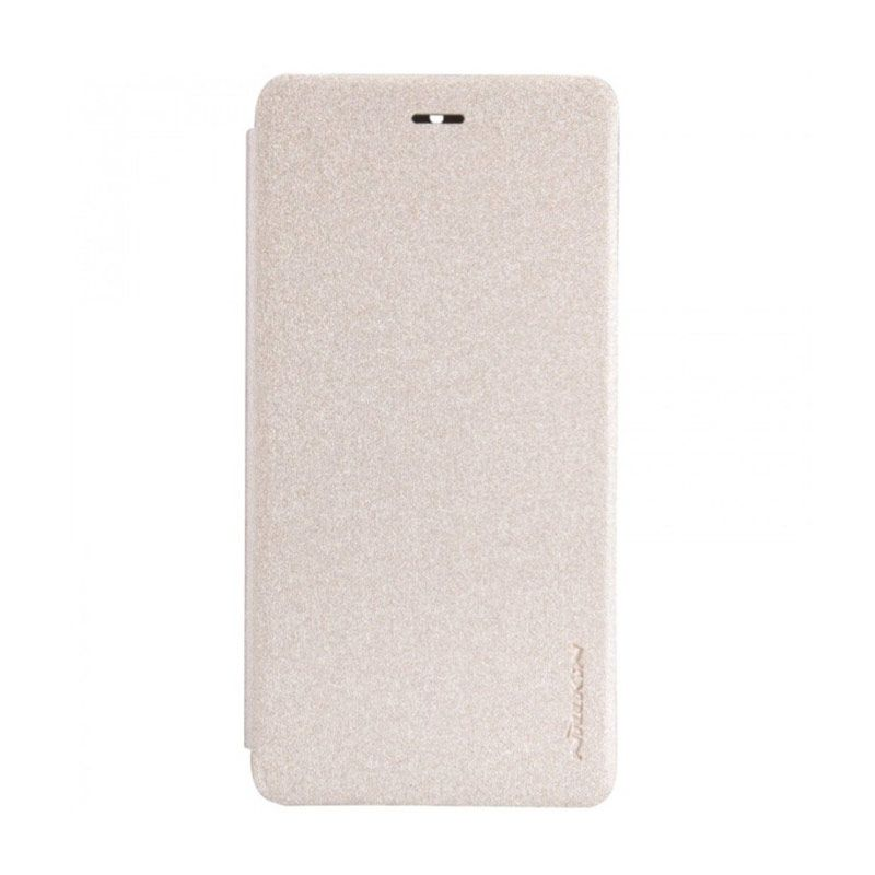 Nillkin Sparkle Leather Gold Casing for Xiaomi Mi4 or M4