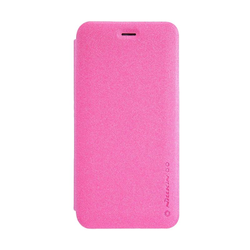 Nillkin Sparkle Leather Pink Casing for Iphone 6 Plus