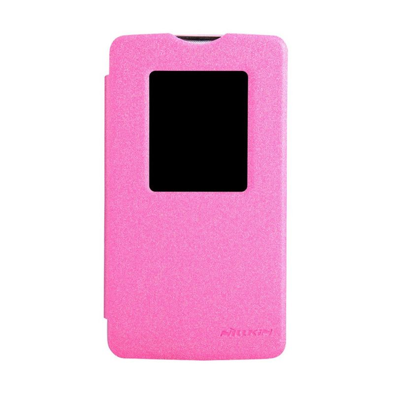 Nillkin Sparkle Leather Pink Casing for LG L80 D380