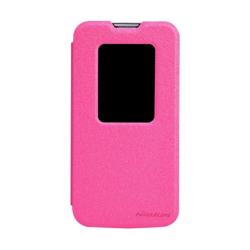 Nillkin Sparkle Leather Pink Casing for LG L90 D410