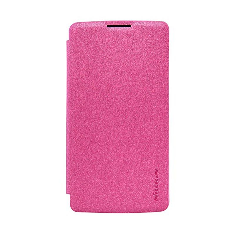 Nillkin Sparkle Leather Pink Casing for LG Leon H324