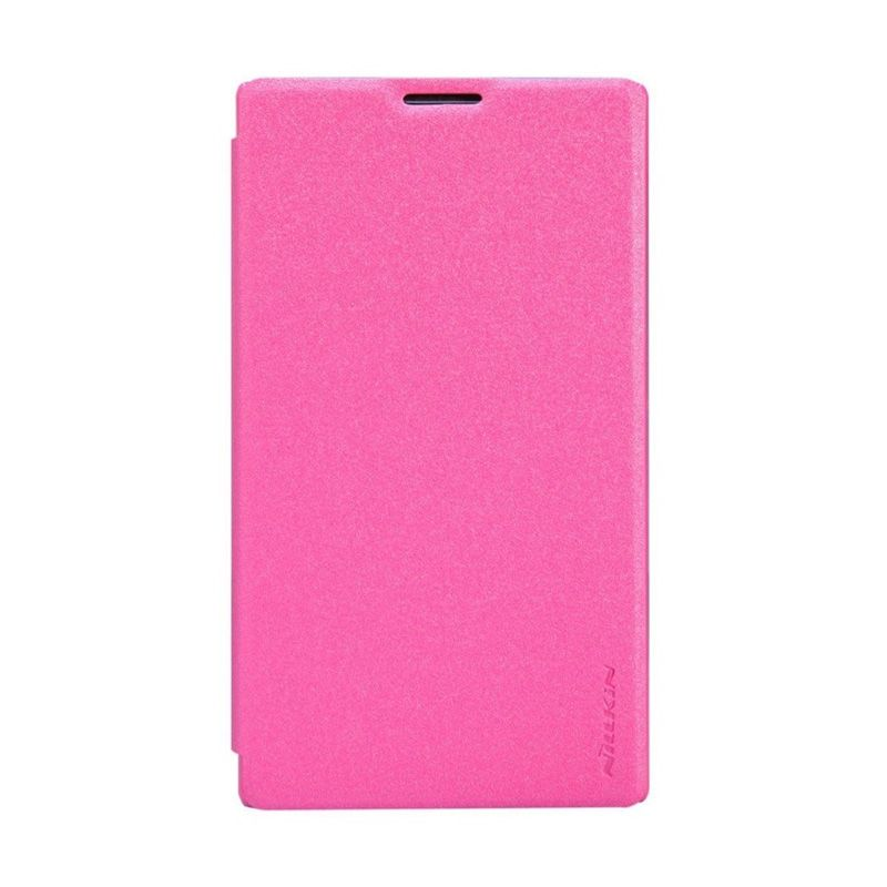 Nillkin Sparkle Leather Pink Casing for Nokia XL or XL Dual
