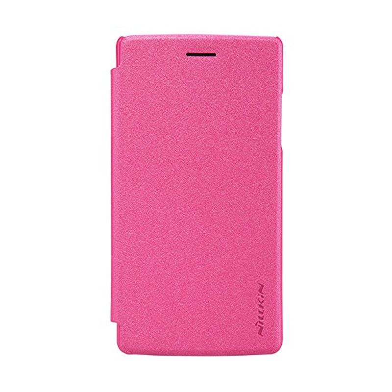Nillkin Sparkle Leather Pink Casing for Oppo Neo 5 A31