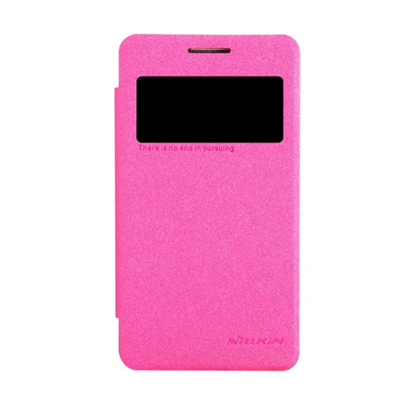 Nillkin Sparkle Leather Pink Casing for Samsung Galaxy Core 2 G355h