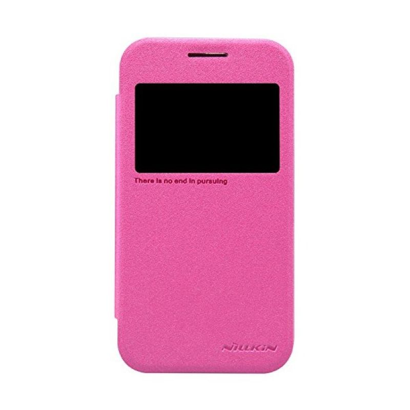 Nillkin Sparkle Leather Pink Casing for Samsung Galaxy Core Prime G360