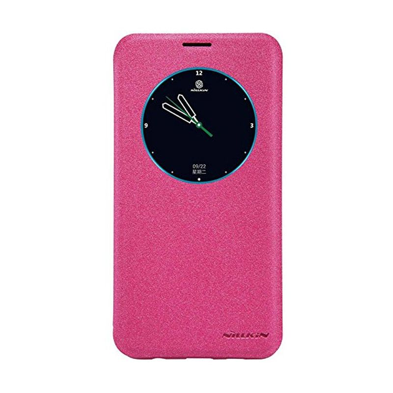 Nillkin Sparkle Leather Pink Casing for Samsung Galaxy S6 Edge Plus