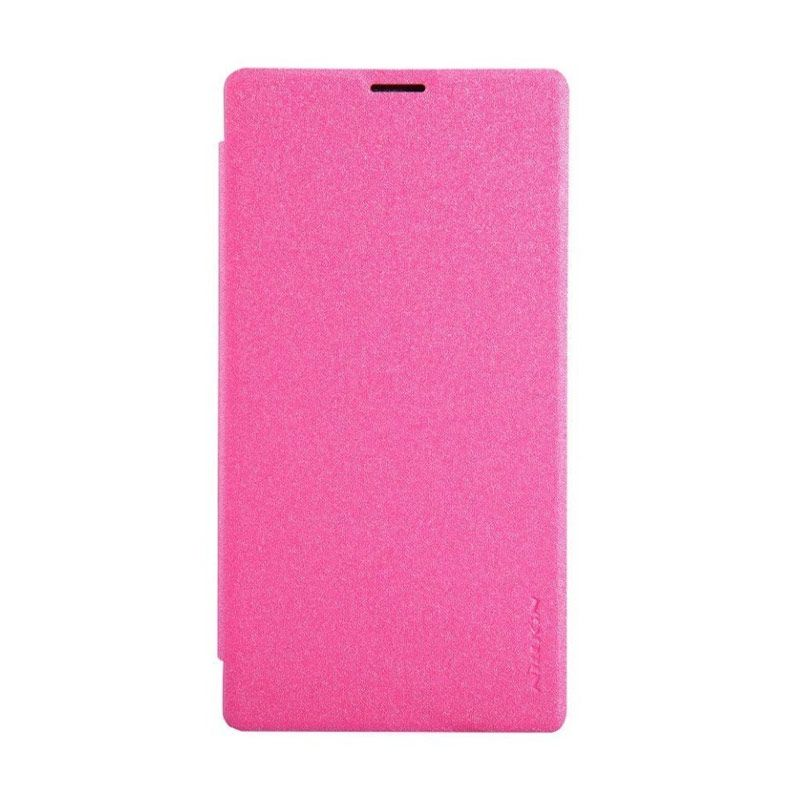 Nillkin Sparkle Leather Pink Casing for Sony Xperia T3 M50