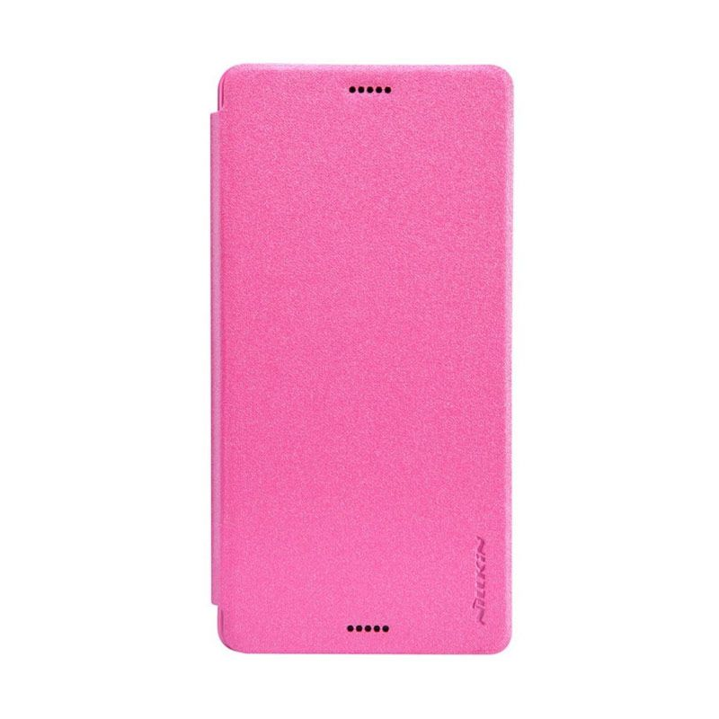 Nillkin Sparkle Leather Pink Casing for Sony Xperia Z3 L55