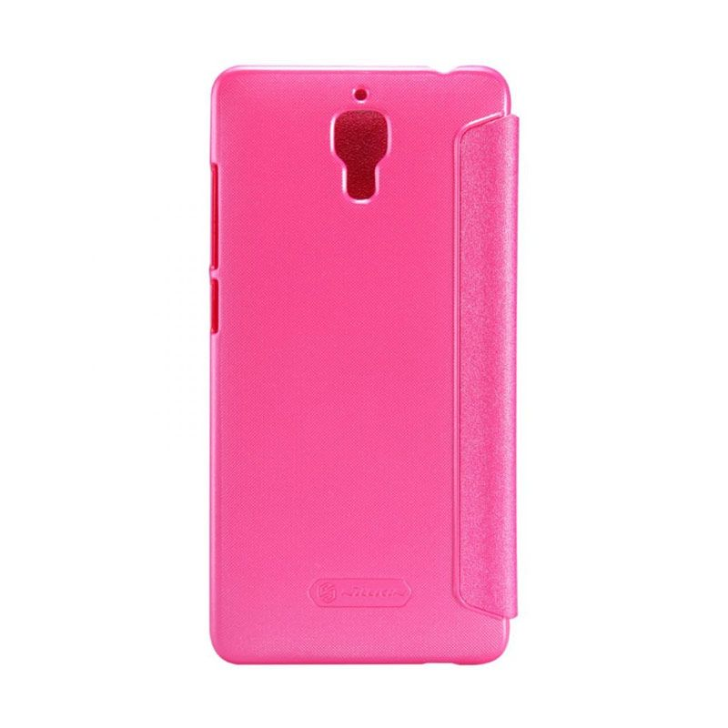 Nillkin Sparkle Leather Pink Casing for Xiaomi Mi4 or M4