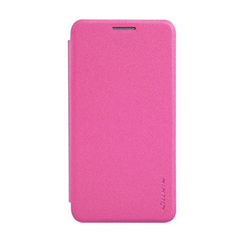 Nillkin Sparkle Leather Pink Casing Samsung Galaxy A3 A300