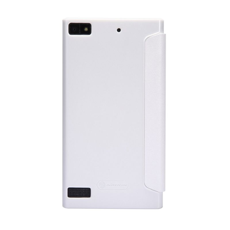Nillkin Sparkle Leather White Casing for Blackberry Z3