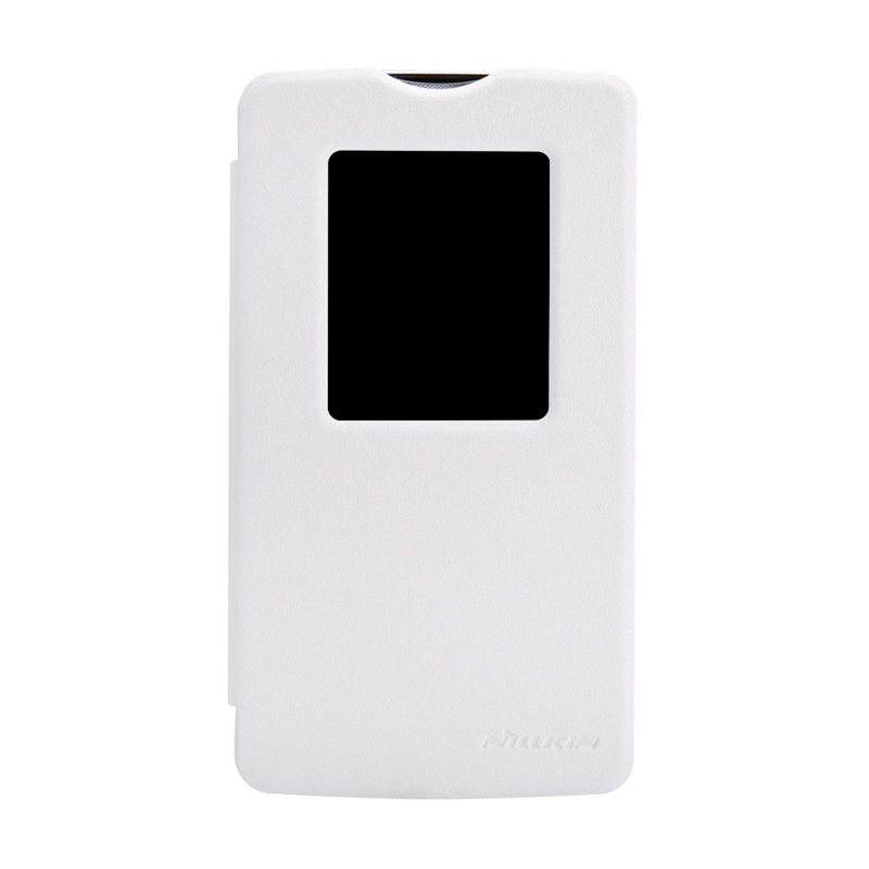 NILLKIN Sparkle Leather White Casing for LG L80 D380