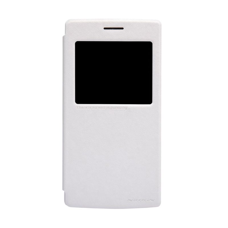Nillkin Sparkle Leather White Casing for OnePlus One A0001
