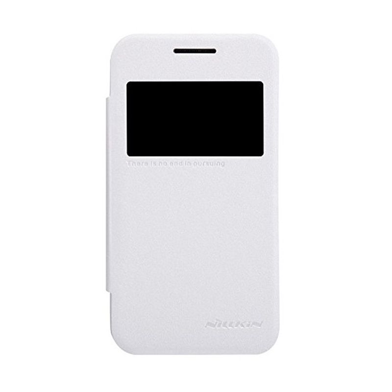 Nillkin Sparkle Leather White Casing for Samsung Galaxy Ace NXT or Galaxy V G313H