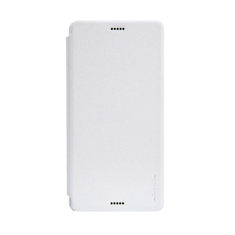 Nillkin Sparkle Leather White Casing for Sony Xperia Z3 L55