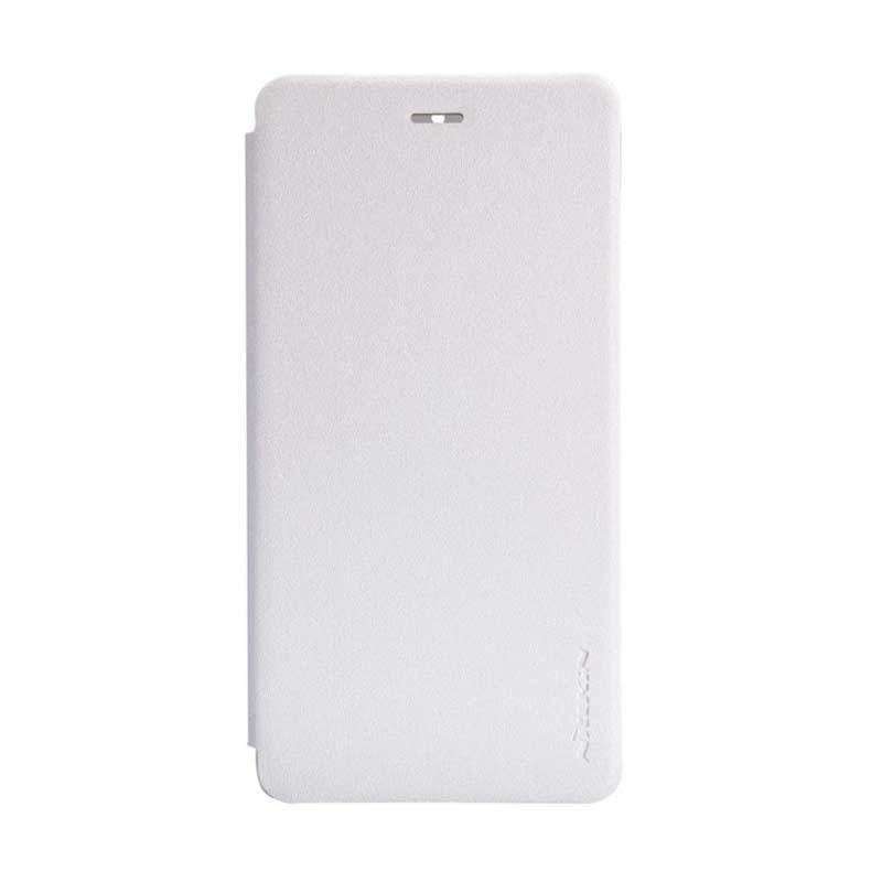 Nillkin Sparkle Leather White Casing for Xiaomi Mi4 or M4