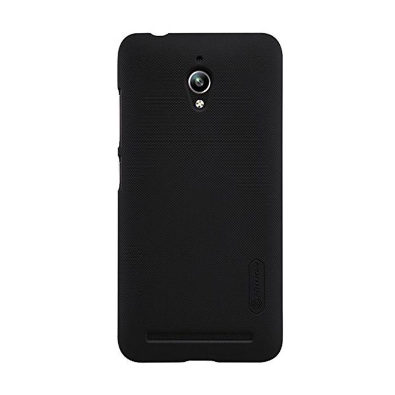 Nillkin Super Frosted Shield Black Casing for Asus Zenfone Go ZC500TG
