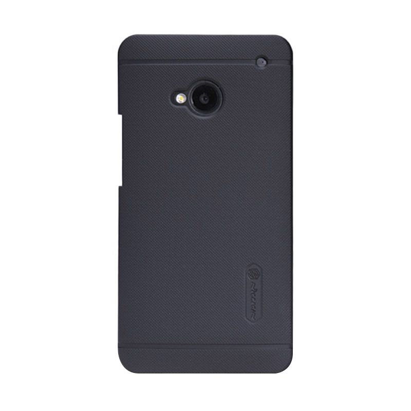 Nillkin Super Frosted Shield Black Casing for HTC One M7