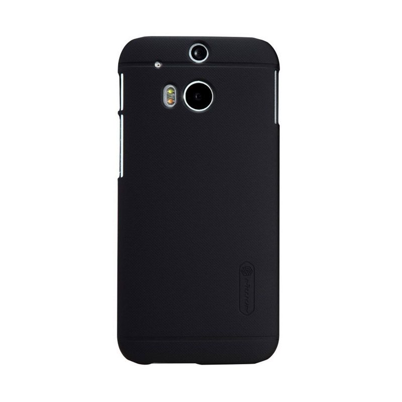 Nillkin Super Frosted Shield Black Casing for HTC One M8