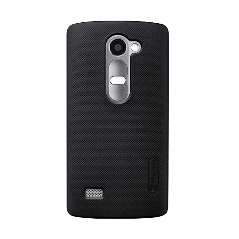 Nillkin Super Frosted Shield Black Casing for LG Leon H324
