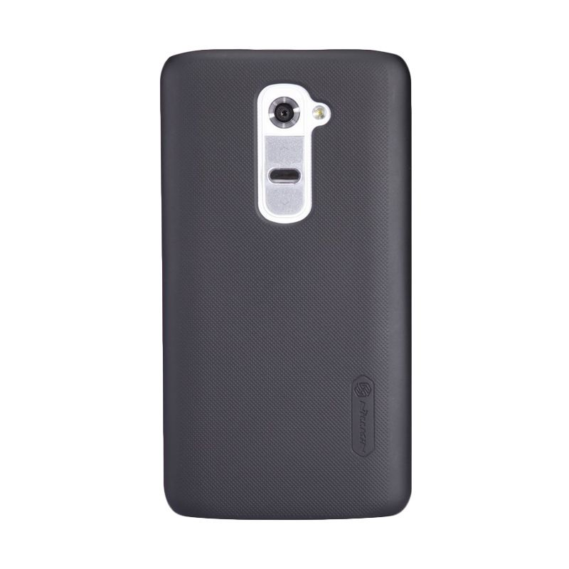 Nillkin Super Frosted Shield Black Casing for LG Optimus G2