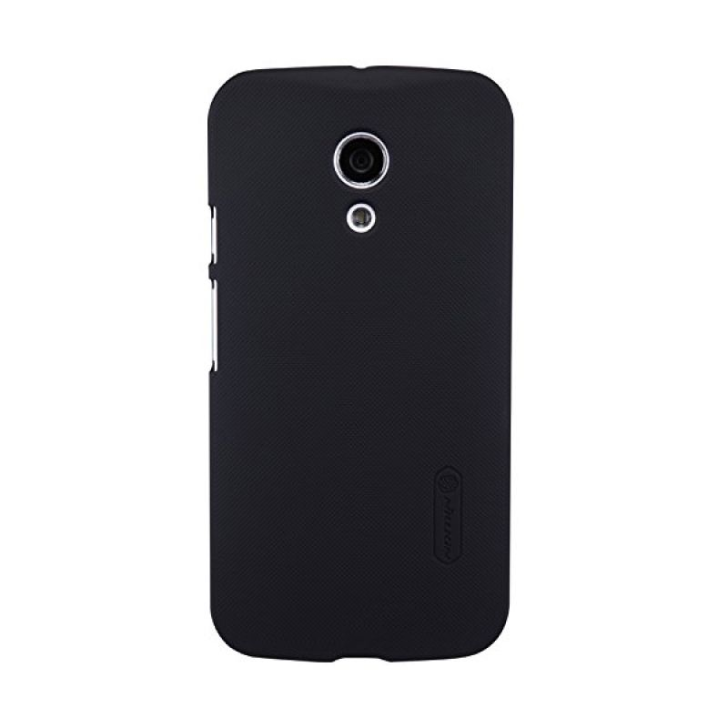Nillkin Super Frosted Shield Black Casing for Motorola Moto G2