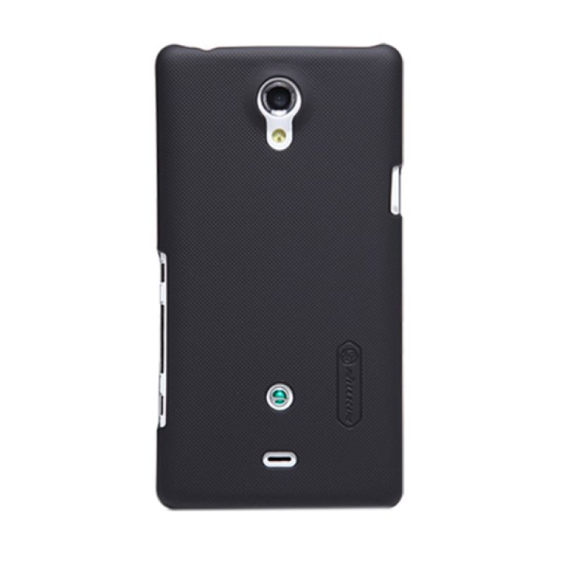 Nillkin Super Frosted Shield Black Casing for Sony Xperia T