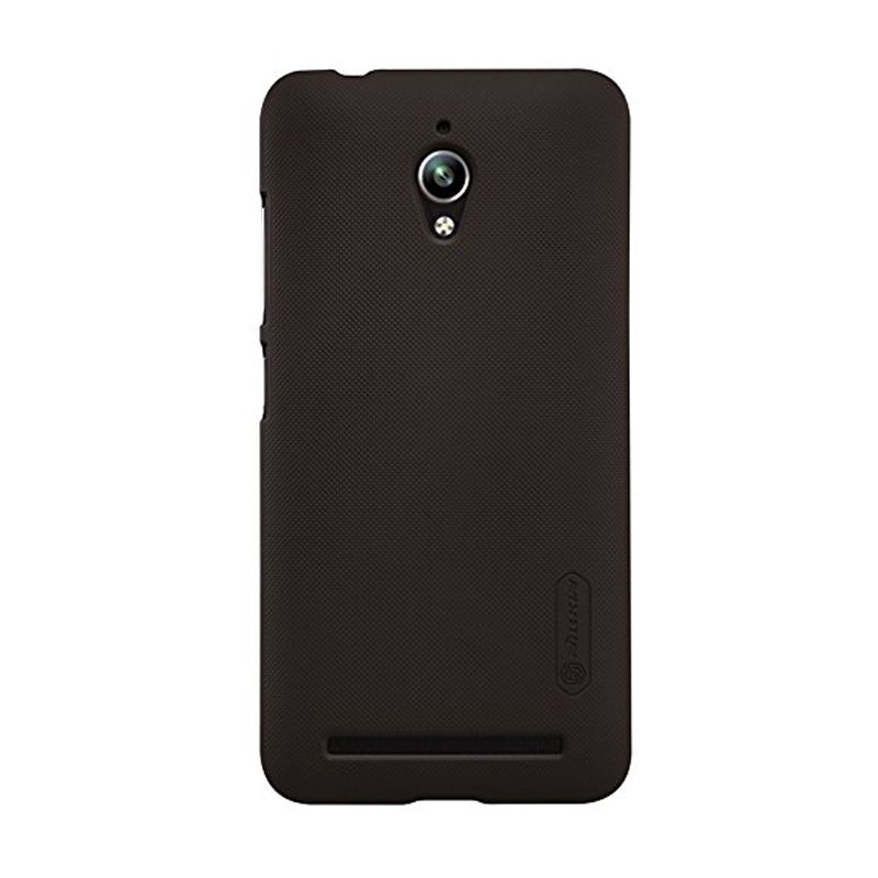 Nillkin Super Frosted Shield Brown Casing for Asus Zenfone Go ZC500TG